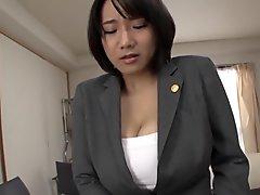 Hottest Japanese slut in Horny MILF, Big Tits JAV scene