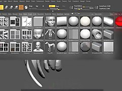 ZBrush Deformation Substance Painter 2019     Blender Eevee