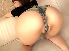 Increible culo japones