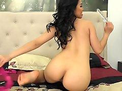 Cindy Starfall in Hot Bedroom Masturbation - CherryPimps