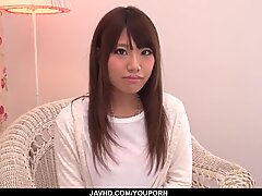 Chisa Hoshino treats a stiff dick with proper lust - More at javhd.net