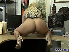 Chubby big natural tits blonde and tiny teen ass Make that money!