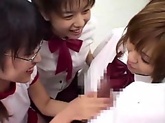 Japanese Schoolgirl Bukkake (Censored)