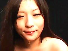 Sonohara Rika piss mouth enema drinking