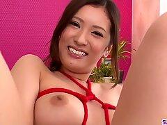 Yui Kasuga plays naughty with cock- More at Slurpjp.com