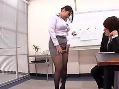 Incredible Japanese girl in Crazy Office, HD JAV clip