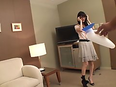 Horny Japanese chick in Incredible Amateur, Teens JAV clip
