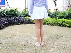 Chinese pantyhose foot